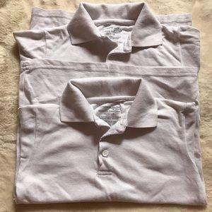 Gently used bundle of 2 polo shirts-size 6